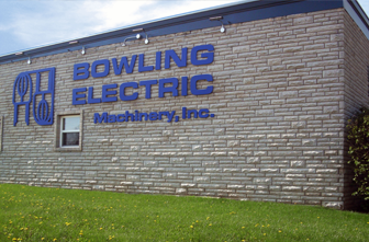 Outside of Bowling Electric Building